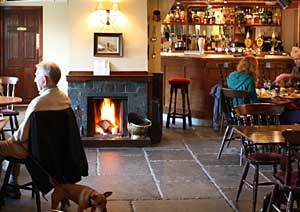 Warm and cosy bar